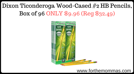 Dixon Ticonderoga Wood-Cased