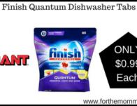 Finish Quantum Dishwasher Tabs
