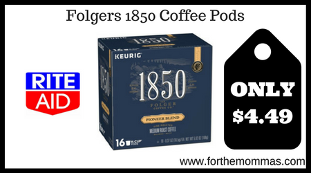 Folgers 1850 Coffee Pods