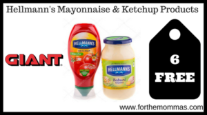 Hellmann's Mayonnaise & Ketchup Products