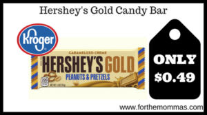 Hershey's Gold Candy Bar