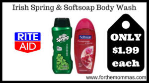 Irish Spring & Softsoap Body Wash