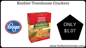 Keebler Townhouse Crackers