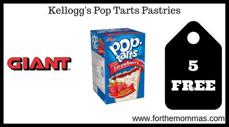 Kellogg's Pop Tarts Pastries
