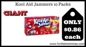 Kool Aid Jammers 10 Packs