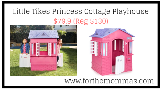 Little Tikes Princess Cottage Playhouse 79 9 Reg 130