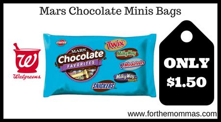 Mars Chocolate Minis Bags