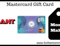 Giant: Mastercard Gift Card Moneymaker Deal Starting 4/5! {2 X's Points}