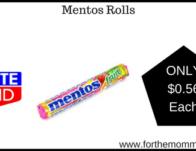 Mentos Rolls