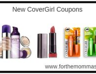 New COVERGIRL Coupons   Save Up To $5.00