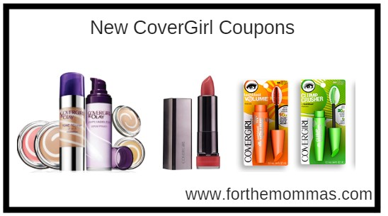 New CoverGirl Coupons: Save up to $6