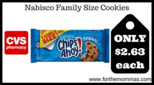 Nabisco Family Size Cookies