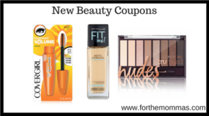 New Beauty Coupons