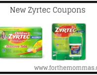 New Zyrtec Coupon Worth $15.00