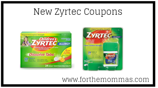picture about Zyrtec Coupon Printable called Fresh Zyrtec Coupon Significance $8.00 - FTM