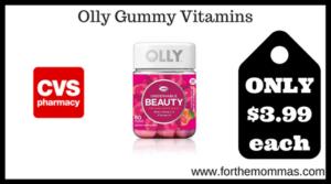 Olly Gummy Vitamins