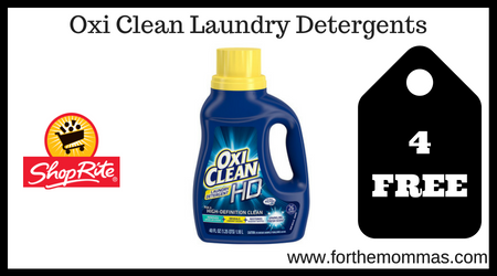 Oxi Clean Laundry Detergents