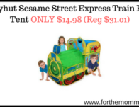 Playhut Sesame Street Express Train Play Tent