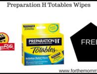 Preparation H Totables Wipes