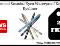 Rimmel Scandal Eyes Waterproof Kohl Eyeliner
