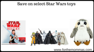 Save on select Star Wars toys