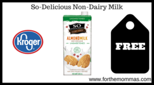 So-Delicious Non-Dairy Milk