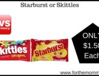 Starburst or Skittles