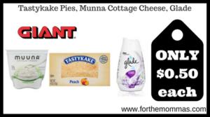 Tastykake Pies, Munna Cottage Cheese, Glade
