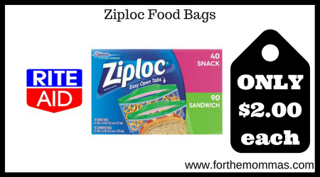Ziploc Food Bags