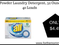 all Powder Laundry Detergent