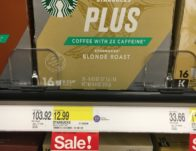 Starbucks Plus Coffee K-Cup Pods 16 Count