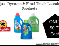 Ajax & Final Touch Laundry Products JUST $0.77 Each Starting 2/24!