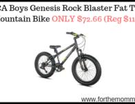 BCA Boys Genesis Rock Blaster Fat Tire Mountain Bike