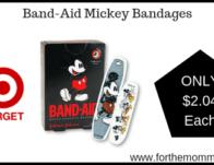 Band-Aid Mickey Bandages