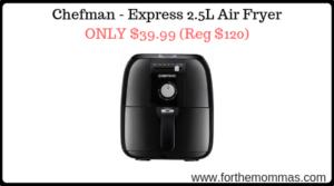 Chefman - Express 2.5L Air Fryer