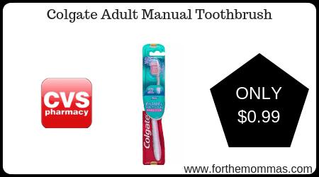 Colgate Adult Manual Toothbrush
