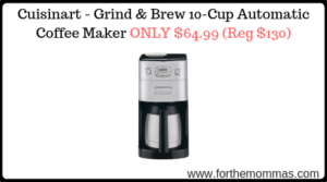 Cuisinart - Grind & Brew 10-Cup Automatic Coffee Maker