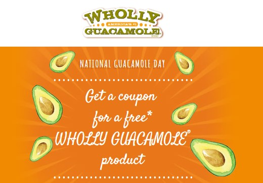 FREE Wholly Guacamole Coupon!