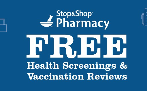 Free Health Screenings at Stop & Shop, Giant Food & Martins