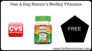 One A Day Nature's Medley Vitamins