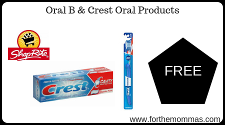 Oral B & Crest Oral Products