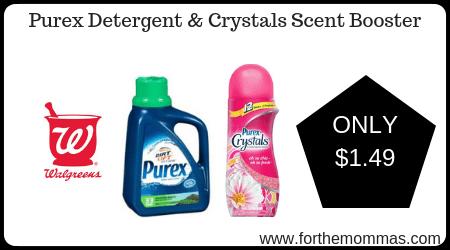 Purex Detergent & Crystals Scent Booster