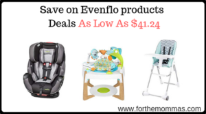 Save on Evenflo products