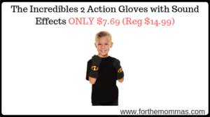 The Incredibles 2 Action Gloves with Sound Effects