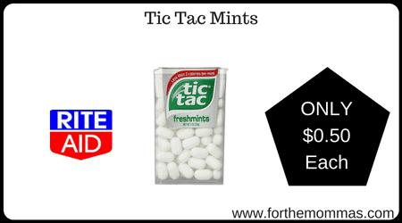 Tic Tac Mints