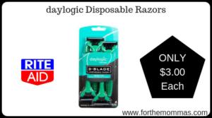 daylogic Disposable Razors
