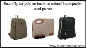 school backpacks and purse