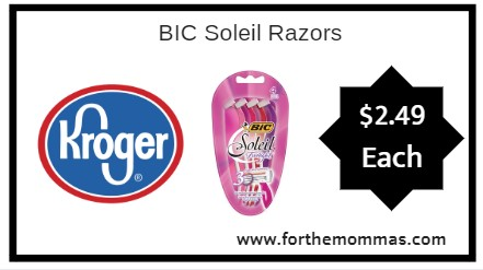 Buy Here Pay Here Ct >> Kroger: BIC Soleil Razors ONLY $2.49 {Reg $5.49} - FTM