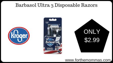 Barbasol Ultra 3 Disposable Razors
