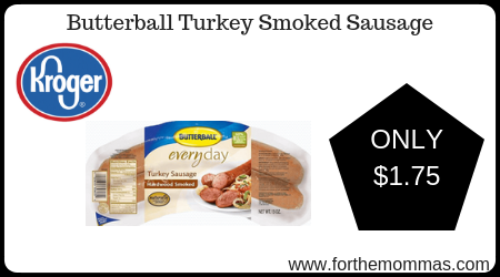 Butterball Turkey Smoked Sausage